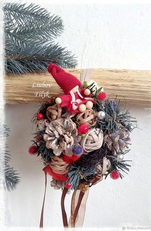 Плетеный короб Сундук с игрушками 'Старинные желания' ручной работы на заказ