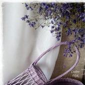 Набор плетеных корзин 'Нежная сирень'
