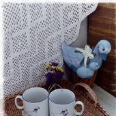 Плетеный поднос 'Солнечное утро'