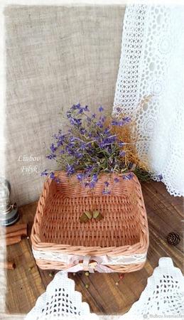 Короб плетеный Для кухни ручной работы на заказ