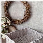 Короб плетеный 'Ma maison'