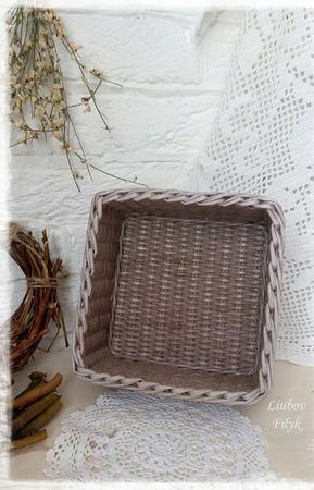 Короб плетеный Небольшой ручной работы на заказ