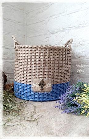 """Набор плетеных корзин """"Natural house"""" ручной работы на заказ"""