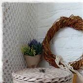 Плетеная шкатулка 'Antique'