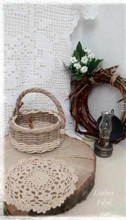Корзинки плетеные, миниатюрные подарочные ручной работы на заказ