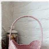 Короб плетеный 'Rose'