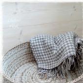 Большая плетеная корзина  'Pastel'