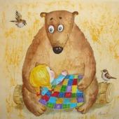 фото: Картины и панно (маша и медведь)