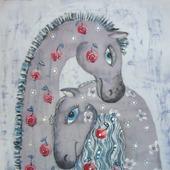 """Лошадки """"Любовь"""""""