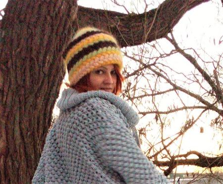 Шапка вязанная из мохера. Невероятно теплая шапка! ручной работы на заказ
