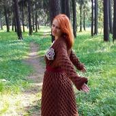 Шерстяной кардиган на осень или зиму. Очень теплый!
