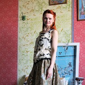 Длинная юбка из хлопка на лето