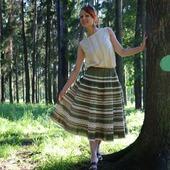 Юбка Кружевель зеленая
