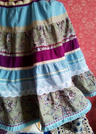 Платье в стиле бохо ручной работы на заказ