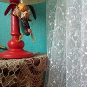 Нежная и романтическая штора с шитьем «Шарм Прованса»
