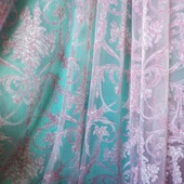 Легкая штора во французском стиле «Туаль Де Жуи». Сама женственность!