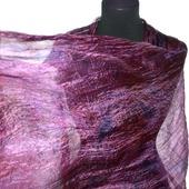 Шарф палантин женский натуральный шелк подарок женщине