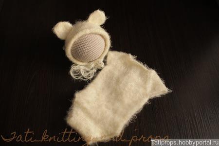 Комплект для фотосессии новорожденного ручной работы на заказ
