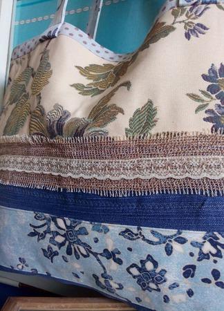 Сумка текстильная для пляжа или просто для покупок. Авоська на плечо ручной работы на заказ