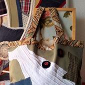 Двусторонняя эко-авоська «Покрути меня!» Текстильная сумка. Экосумка.