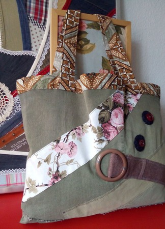Двусторонняя эко-авоська «Покрути меня!» Текстильная сумка. Экосумка. ручной работы на заказ