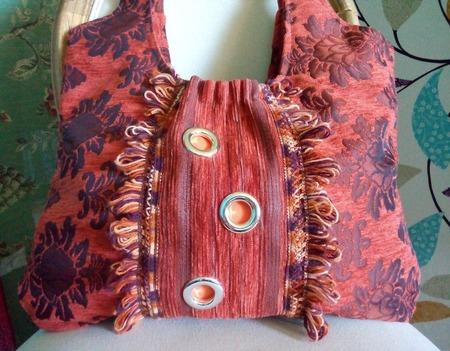 Авоська, с претензией быть настоящей текстильной сумочкой. Экосумка. ручной работы на заказ