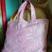 Текстильная сумочка для покупок «Розалия». Экосумка тканевая.