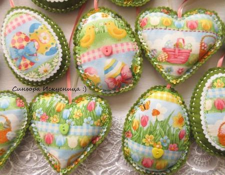Набор Цветы, кролики, цыплята Пасха ручной работы на заказ