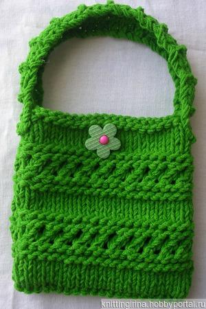 Маленькая детская сумочка ручной работы на заказ