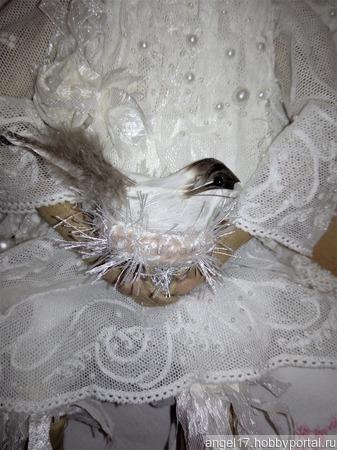 Ангел белокрылый ручной работы на заказ