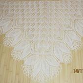 Белая шаль
