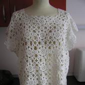 Белая блузка в стиле бохо