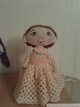 Кукла Аня ручной работы на заказ