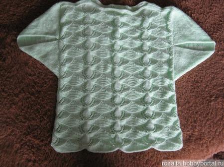 Летний пуловер ручной работы на заказ