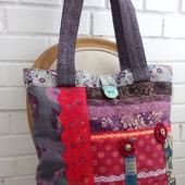 Текстильная сумочка «Абстрактный восток». Сумка на плечо. Хиппи-стиль