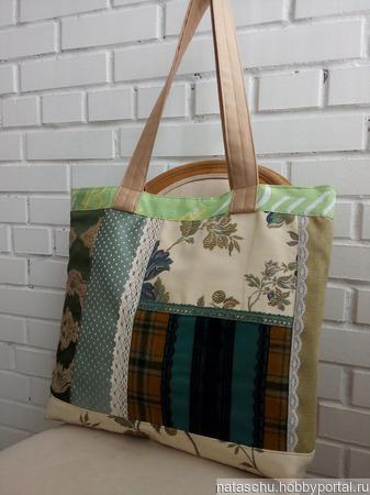 Двухсторонняя, текстильная и очень большая сумка. Сумка на каждый день. ручной работы на заказ