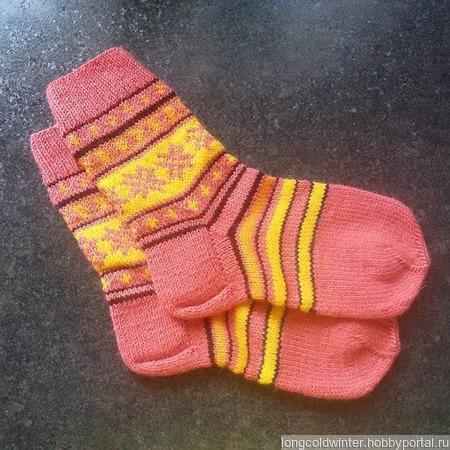 Носочки № 2 ручной работы на заказ