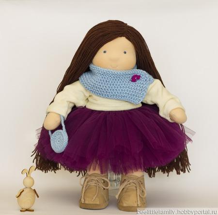 Текстильная  кукла, 35-36 см ручной работы на заказ