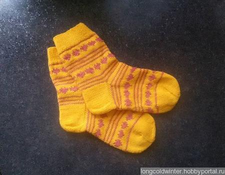 Носочки № 5 ручной работы на заказ