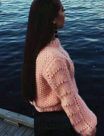 Свитер Ganni. Exclusive sweater. ручной работы на заказ