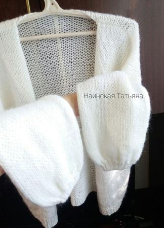 Мохеровый свитер. ручной работы на заказ