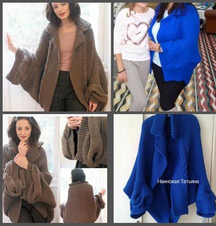 Кардиган, свитер, пальто от Jo Storie. ручной работы на заказ