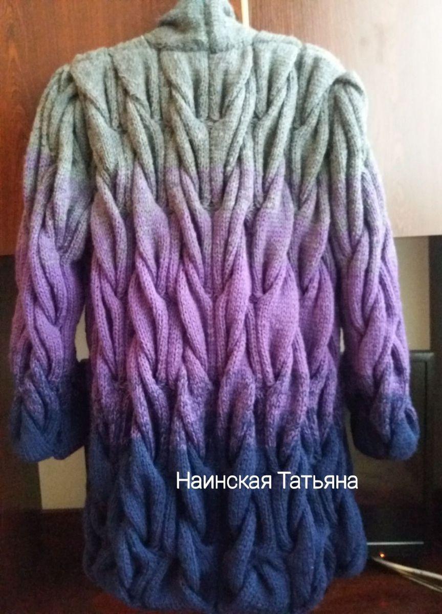 c6c6c9ed755e Кардиган Лало косами. – купить в интернет-магазине HobbyPortal.ru с ...