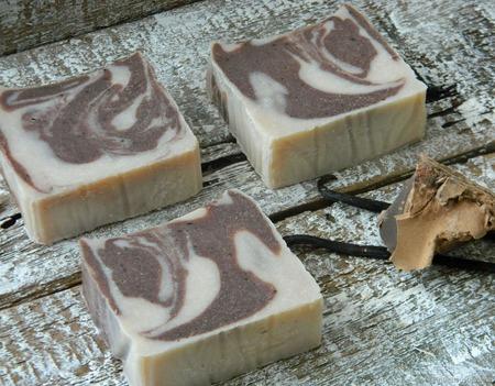 """""""Шоколадный десерт"""" мыло с нуля ручной работы на заказ"""