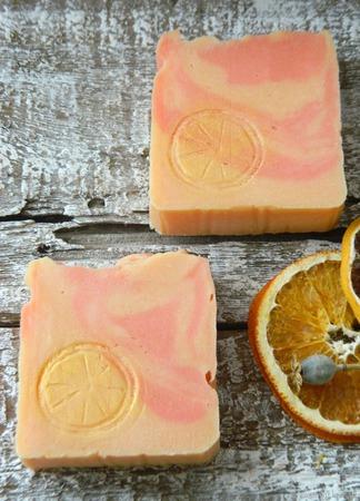 """Мыло натуральное """"Апельсин"""" ручной работы на заказ"""
