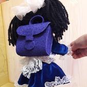 Кукла Наташка - первоклашка
