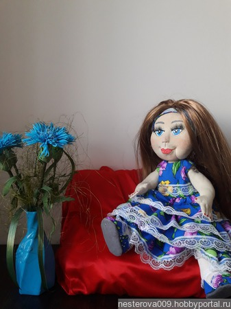 Кукла  Василинка ручной работы на заказ