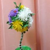 фото: Праздничная атрибутика — подарки к праздникам (цветочный)