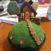 Игольница домик