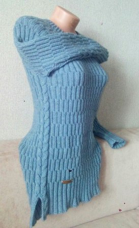 Голубая фантазия ручной работы на заказ